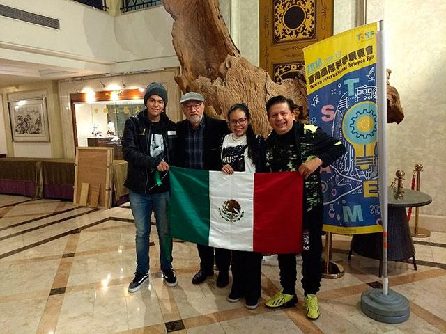 2do y 3er lugar para México en la Feria Internacional de Ciencia de Taiwán 2018