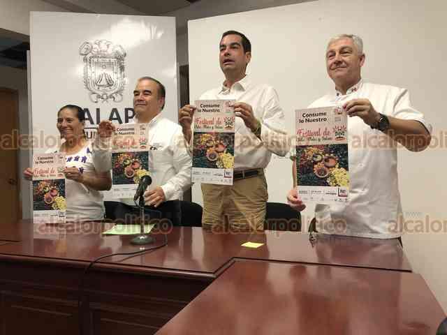 Se viene el Festival de Chiles, Moles y Salsas, en Los Lagos de Xalapa - alcalorpolitico