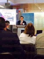Madrid, Espa�a, 26 de febrero de 2015.- El alcalde Am�rico Z��iga Mart�nez participa en el Primer Foro Iberoamericano de Alcaldes, en Madrid, a invitaci�n de la Iniciativa de Ciudades Emergentes y Sostenibles, del Banco Interamericano de Desarrollo (BID).
