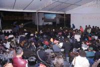 Xalapa, Ver., 27 de febrero de 2015.- Con gran �xito, arranc� en la plazoleta de Xallitic la d�cima gira de documentales �Oh Ambulante! 2015, que recorrer� todo el pa�s y estar� en la ciudad hasta el 5 de marzo.