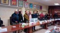 Xalapa, Ver. 27 de febrero de 2015. Durante la sesi�n ordinaria del Consejo Local del INE, representantes de partidos pol�ticos manifestaron su rechazo al bloque de consejeros integrantes del Consejo General que acusan benefician al PRI.