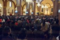 Xalapa, Ver., 1 de marzo de 2015.- Durante la homil�a dominical, el arzobispo Hip�lito Reyes Larios se sum� a la celebraci�n del D�a de la Familia, pidi� que se valore la uni�n familiar adem�s del respeto entre padres e hijos.