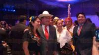 Boca del R�o, Ver., 1 de marzo de 2015.- El gobernador, Javier Duarte de Ochoa, asisti� a la cena de clausura de la reuni�n nacional del Club Rotario en el World Trade Center, en donde comparti� con rotarios de varias partes del pa�s.