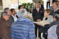 Xalapa, Ver., 3 de marzo de 2014.- El secretario de Finanzas, Mauricio Audirac, junto con el subsecretario de Administraci�n, Juan Manuel del Castillo, recibieron a los integrantes de la mesa directiva del COPIPEV, donde se comprometieron a revisar el sistema de dispersi�n de los recursos.