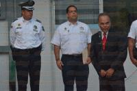 Xalapa, Ver., 5 de marzo de 2015.- En breve ceremonia, el secretario de Seguridad P�blica Arturo Berm�dez Zurita, present� a Edmundo Mart�nez Zaleta, como nuevo titular de la Direcci�n de Tr�nsito del Estado.
