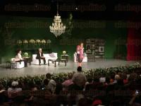 C�rdoba, Ver., 5 de marzo de 2015.- La ex primera dama de M�xico, Margarita Zavala P�rez del Campo, lleg� a este municipio para ofrecer la charla denominada