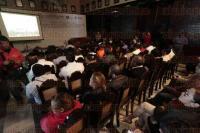 Veracruz, Ver., 6 de marzo de 2015.- La directora General de Innovaci�n del Gobierno del Estado de M�xico, Elizabeth P�rez Quiroz, dio una conferencia magistral con el tema