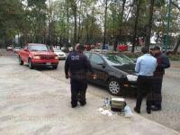 Xalapa, Ver., 6 de marzo de 2015.- Un grupo de elementos de la Secretar�a de Seguridad P�blica (SSP) especializado en la recuperaci�n de veh�culos robados, coloc� ret�n en la avenida Xalapa, en donde revisan cada veh�culo para detectar alguno que cuente con reporte de robo.