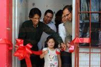 Xalapa, Ver., 26 de Marzo de 2015.- Se inaugur� una nueva aula multisensorial para la atenci�n de ni�os con discapacidad en el CAM 55 de esta ciudad capital, la cual fue acondicionada por parte de padres de familia y la SEV con el fin de mejorar la experiencia y el trato a peque�os.