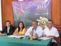 Coatepec, Ver., 26 de marzo de 2015.- En conferencia de presa en la Sala de Cabildo del Palacio Municipal de este Pueblo M�gico se present� el programa de la Expo Feria del Caf� a desarrollarse del 7 al 24 de mayo.