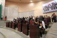 Xalapa, Ver., 26 de marzo de 2015.- Diputados durante sesi�n extraordinaria del Congreso en el desafuero de Omar Cruz.