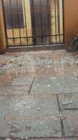C�rdoba, Ver., 26 de marzo de 2015.- El aguacero que cay� en este municipio y la regi�n, que no tard� mucho, vino acompa�ado de granizo, lo que sin duda afectar� a cultivos sensibles como jitomate, rosales y plantas ex�ticas.