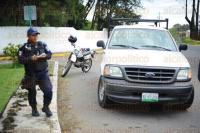 Xalapa, Ver., 26 de Marzo de 2015.- Debido a que una camioneta particular circulaba en sentido contrario se suscit� un percance automovil�stico sobre Circuito Presidentes.