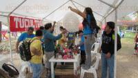 Actopan, Ver., 28 de marzo de 2015. Cientos de personas acudieron al XVIII Festival de Aves y Humedales para disfrutar de un d�a de esparcimiento y contacto con la naturaleza, gracias a la variedad de riquezas naturales que ofrece el Centro de Investigaciones Costeras La Mancha, propiedad privada del Instituto de Ecolog�a.
