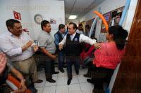 Xalapa, Ver., 29 de marzo de 2015.- Registro de Ulises Chama como candidato a la diputaci�n federal por Acci�n Nacional en las oficinas del INE.