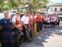 Papantla, Ver., 29 de marzo de 2015.- Inici� formalmente el operativo Semana Santa con el objetivo de prevenir incidentes y brindar ayuda a la poblaci�n durante este periodo que concluye el 12 de abril.