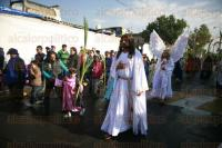 M�xico, DF, 29 de marzo de 2015.- M�s 45 mil personas acompa�aron a Jes�s de Nazaret a recorrer las calles de la demarcaci�n en la celebraci�n del