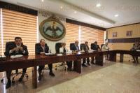 Xalapa, Ver., 31 de marzo de 2015.- Sesi�n de la Judicatura en las instalaciones del Palacio de Justicia presidida por el magistrado presidente Alberto Sosa.