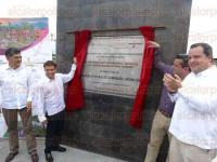Coscomatepec, Ver., 31 de marzo de 2015.- El alcalde Ignacio Manuel �lvarez y el secretario de Turismo, Harry Grappa, inauguraron la rehabilitaci�n de parque y plazuela de este municipio.
