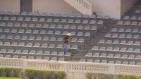 Xalapa Ver., 20 de abril de 2015.- Ajustan los �ltimos detalles en el Estadio Xalape�o, una de las sedes que alojar� las actividades de la Olimpiada Nacional Policial en las que participar�n polic�as de todo el pa�s.