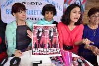 Xalapa, Ver., 21 de abril de 2015.- En conferencia de prensa mujeres empresarias invitaron al p�blico en general a asistir a la pr�xima pasarela de modas