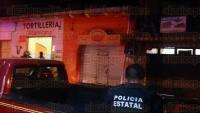 Xalapa, Ver., 25 de abril de 2015.- Fuga de gas en la tortiller�a
