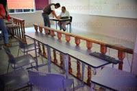 Xalapa, Ver., 28 de abril de 2015.- Adaptan aulas de la facultad de Derecho UV para clases sobre juicios orales, as� lo dio a conocer el director Jos� Luis Cuevas Gayoso.