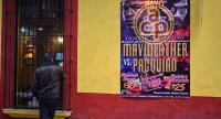 Xalapa Ver., 2 de mayo de 2015.- Restaurantes-bar esperan lleno total esta noche durante la transmisi�n de la pelea de box entre Mayweather y Pacquiao.