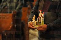 Xalapa, Ver., 3 de mayo de 2015.- El arzobispo Hip�lito Reyes Larios, durante la homil�a dominical, felicit� a todos los trabajadores de la construcci�n, en honor al D�a de la Santa Cruz, celebraci�n que se ha vuelto caracter�stica principalmente de dicho sector.