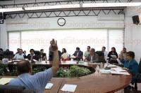 Xalapa, Ver., 22 de mayo de 2015.- Sesi�n del Instituto Electoral Veracruzano (IEV), presidida por la consejera presidenta, Carolina Viveros.