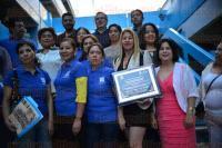 Xalapa Ver., 22 de mayo de 2015.- Juan Carlos Mart�nez Morgan, uno de los ex alumnos de la generaci�n 1987-1990 denominada