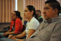 Xalapa, Ver., 26 de mayo de 2015.- La rectora de la Universidad Veracruzana, Sara Ladr�n de Guevara, acompa�ada por directores de diferentes �reas acad�micas, inaugur� el evento
