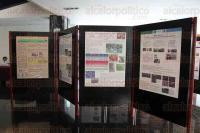 Xalapa, Ver., 26 de mayo de 2015.- Exponen sus resultados los ni�os y j�venes que participaron en el Congreso Organizado por CONACYT e INECOL en el Teatro del Estado.