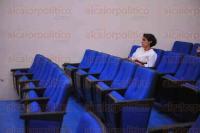 Xalapa, Ver., 26 de mayo de 2015.- Conferencia �La globalizaci�n y sus efectos sobre la regi�n�, impartida por Carlos T�llez Valencia, investigador docente del Centro de Estudios de Geograf�a Humana del Colegio de Michoac�n en las inmediaciones del Instituto de Investigaciones Hist�rico Sociales de la UV.
