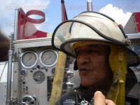 Huiloapan, Ver., 27 de mayo de 2015.- Simulacro de fuga de gas natural de la empresa Maxi Gas, en el que se supone se realizaba alguna excavaci�n y por accidente le pegaron a la tuber�a.