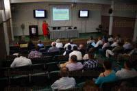 Xalapa Ver., 28 de mayo de 2015.- Como parte de las actividades de la Primera Jornada de Ingenier�a Civil y la Sociedad se imparti� la conferencia