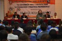 Xalapa Ver., 29 de mayo de 2015.- Se imparti� la conferencia magistral