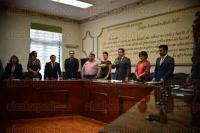 Xalapa Ver., 29 de mayo de 2015.- Sesi�n de Cabildo en el Ayuntamiento, donde estuvieron presentes la mayor�a de los regidores con la ausencia de Daniel Fern�ndez Carri�n y Valent�n Flores Aguayo.