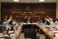 Xalapa, Ver., 29 de mayo de 2015.- Sesi�n ordinaria en la junta Local Ejecutiva del Instituto Nacional Electoral.