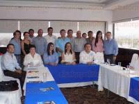 Poza Rica, Ver., 29 de mayo de 2015.- Conferencia de prensa de Margarita Zavala la tarde de este viernes, donde abord� diversos temas para empujar el voto a favor del PAN.
