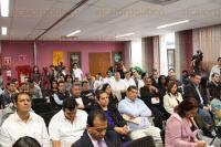 Xalapa, Ver., 1 de julio de 2015.- Fernando Mangabeira, representante de Odebrecht, present� ante el Congreso del Estado el proyecto de la empresa ganadora de la licitaci�n del SAS.