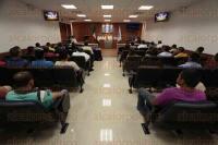 Veracruz, Ver., 3 de julio de 2015.- El Colegio de Abogados imparti� la conferencia