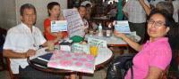 Veracruz, Ver., 6 de julio de 2015.- Integrantes de Red Ciudadana en Defensa del Agua, en este Puerto, invitaron a la doctora Tob�n de la Garza para hablar del impacto de la privatizaci�n de los recursos h�dricos y la posible remunicipalizaci�n de �stos.