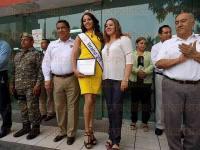 Poza Rica, Ver., 6 de julio de 2015.- Los elementos de la Fuerza Civil y Polic�a Estatal permanecer�n en �reas anexas al Gimnasio Municipal