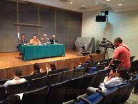 Xalapa, Ver., 7 de julio de 2015.- En conferencia de prensa, autoridades de la Universidad Veracruzana dieron a conocer el proyecto denominado �Atenci�n preventiva y correctiva de �rboles�.