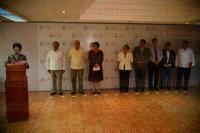 Xalapa Ver., 7 de julio de 2015.- La subsecretaria de Educaci�n B�sica, X�chitl Adela Osorio, en conferencia de prensa, inform� que se busca diversificar y fortalecer los mecanismos de est�mulo a los docentes.