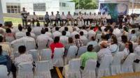 Boca del R�o, Ver., 7 de julio de 2015.- El secretario de Medio Ambiente, Juan Jos� Guerra y el gobernador Javier Duarte, inauguraron el Centro Hidrometeorol�gico de este municipio.