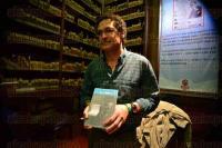 Xalapa Ver., 27 de julio de 2015.- Presentaci�n del libro �El idioma materno�, de Fabio Mor�bito, como parte de las actividades de la Feria del Libro Infantil y Juvenil que se realiza en la capital.