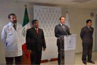 Xalapa, Ver., 28 de julio de 2015.- El fiscal general del Estado, Luis �ngel Bravo, durante conferencia de prensa.