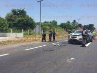 La Antigua, Ver., 28 de julio de 2015.- Accidente en la carretera Veracruz-Xalapa a la altura de la caseta de La Antigua en direcci�n a Veracruz.